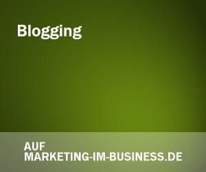 Blogging, Schreiben, Marketing