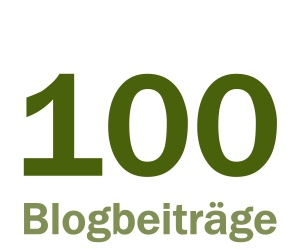 100 Blogbeiträge auf Marketing im Business, Statistiken